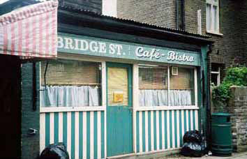 depressing cafe in Eastenders